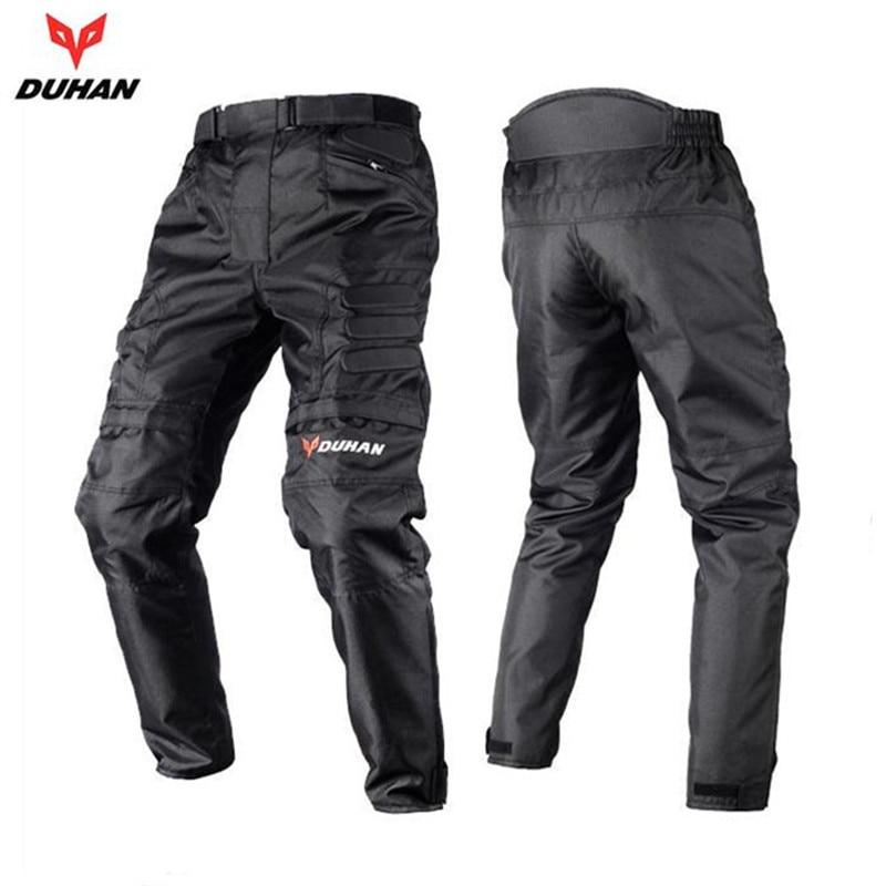 DUHAN Pantalon Moto Motocross Pants Enduro Riding Trousers Motocross Off-Road Racing Sports Knee Protective Motorcycle Trousers