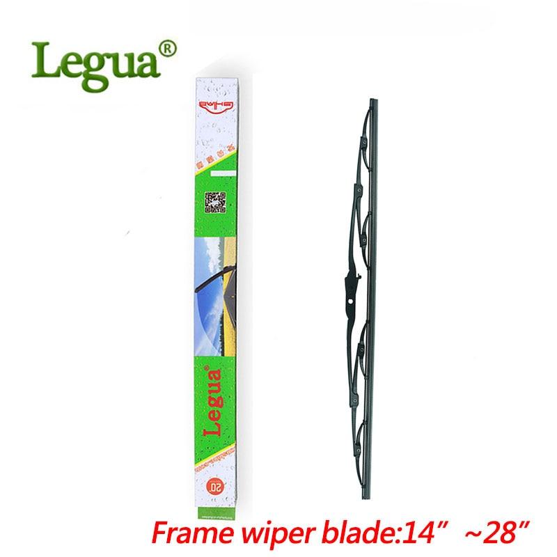 Legua wiper blade in Car Windscreen Wipers ,size 14 16 17 18 19 20 21 22 24 26 28, windshield, natural rubber