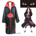 Hot Anime Naruto Akatsuki Cosplay Costumes Uchiha Itachi Pain Cloak