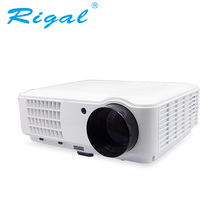Rigal RD804 Proyector LED Inteligente Proyector Android WIFI 2600 Lúmenes Proyector Portátil LED HD WIFI Home Theater Proyector de Cine