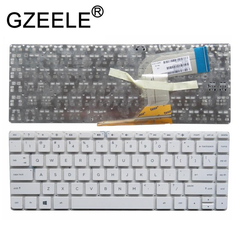 Laptop Keyboard Compatible for HP AEY11U00210 MP-14A33US-920 757318-001 US Black No Frame