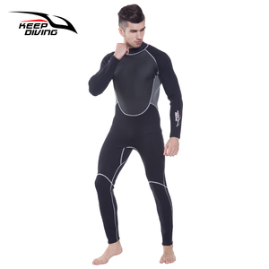 Image 3 - KEEP DIVING Professional Neoprene 3MM Wetsuit One Piece Full body For Men Scuba Dive Surfing Snorkeling Spearfishing Plus Size
