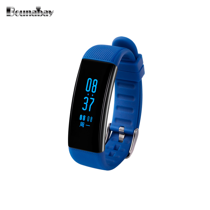BOUNABAY Heart Rate Sports Bluetooth Smart woman watch apple android phone watches waterproof women Clock Touch ladies Clocks