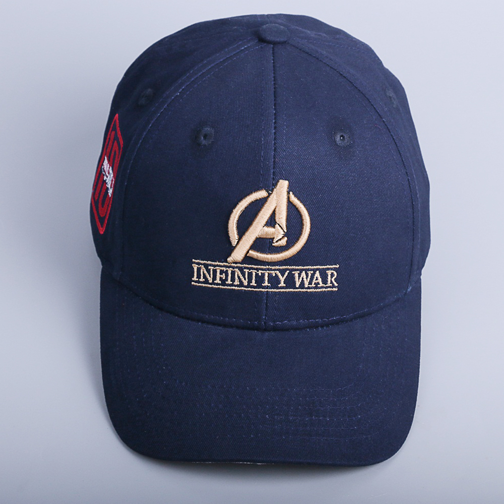 2018 Movie Avengers: Infinity War Accessories Hat Caps 10th anniversary cap Hat Souvenir Embroidery Hat Baseball 100% Cotton