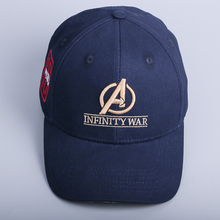 4f0fb73a2c4 2018 Movie Avengers Infinity War Accessories 10th anniversary cap Souvenir  Embroidery