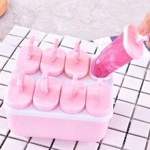 Diy быстрозамороженные домашние кубики льда замороженные силиконовые формы для мороженого Руководство Модель мороженого