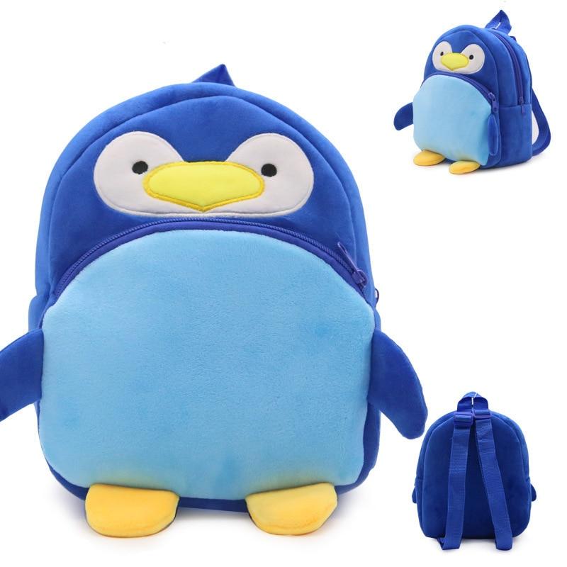 Kid-Baby-Lovely-Animal-Shape-Plush-Schoolbag-Cute-Children-Backpack-Stuffed-Small-Schoolbag-Plush-Kindergarten-Bag-4