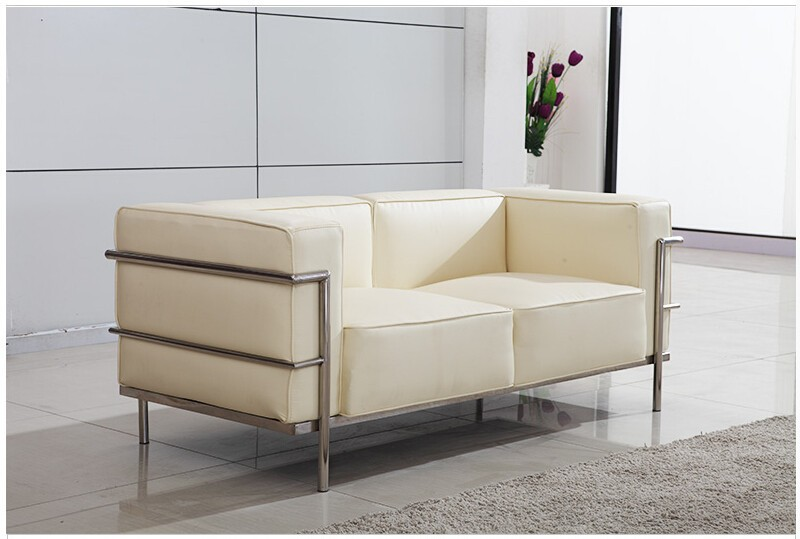 Le Corbusier Style LC3 Sofa 3-seat or Loveseat 2-seat  (2)