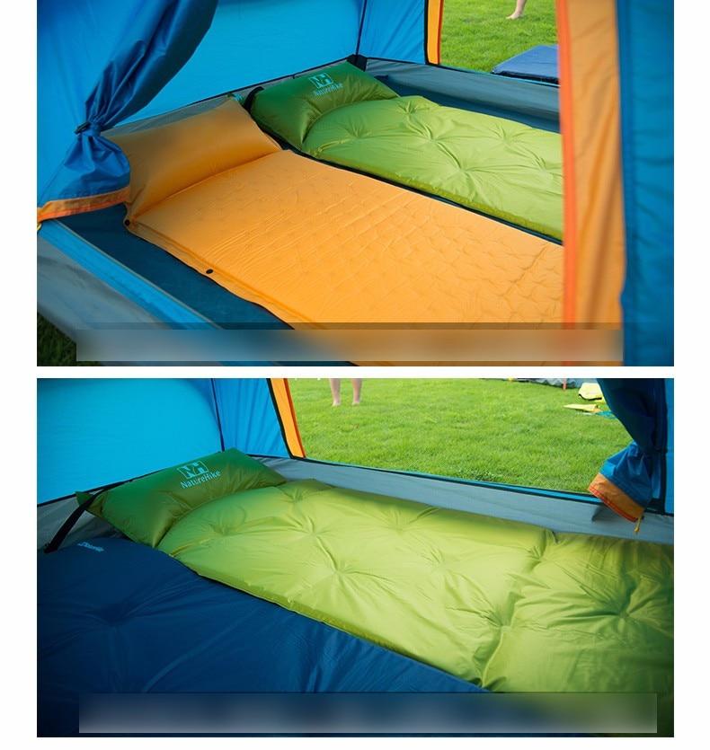 Naturehike auto inflável dormir esteira colchão com