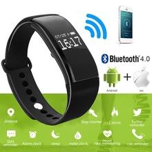 Bluetooth смарт браслет браслет спорта smart watch smartwatch сердечного ритма сенсорный экран деятельность трекер фитнес-для ios android
