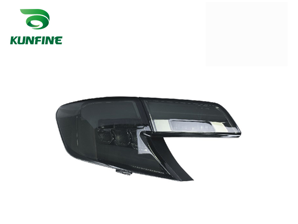 KUNFINE Pair Of Car Tail Light Assembly For TOYOTA CAMRY 2012-2014 Middle East Version Brake Light With Turning Signal Light universal pu leather car seat covers for toyota corolla camry rav4 auris prius yalis avensis suv auto accessories car sticks