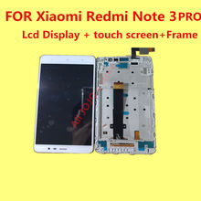 FOR Original Xiaomi Redmi Note 3 PRO Lcd Display+touch screen+Frame For Hongmi Note 3 Pro Replacement Accessories