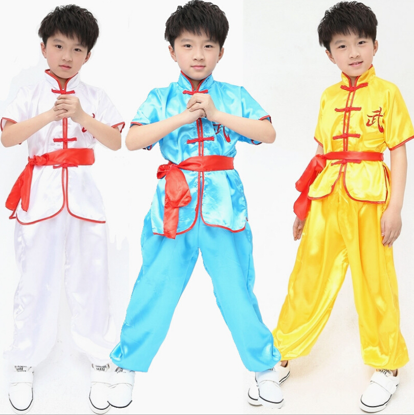 Baby Toddler Boy Girl Kung Fu Chinese Costume Romper Suit Outfit Clothes Props