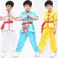 Ropa Set infancia Ropa Rendimiento Ttai Chi Kung Fu Trajes Niños Niñas Traje de Fitness Niños Trajes de Kung Fu Chino t490