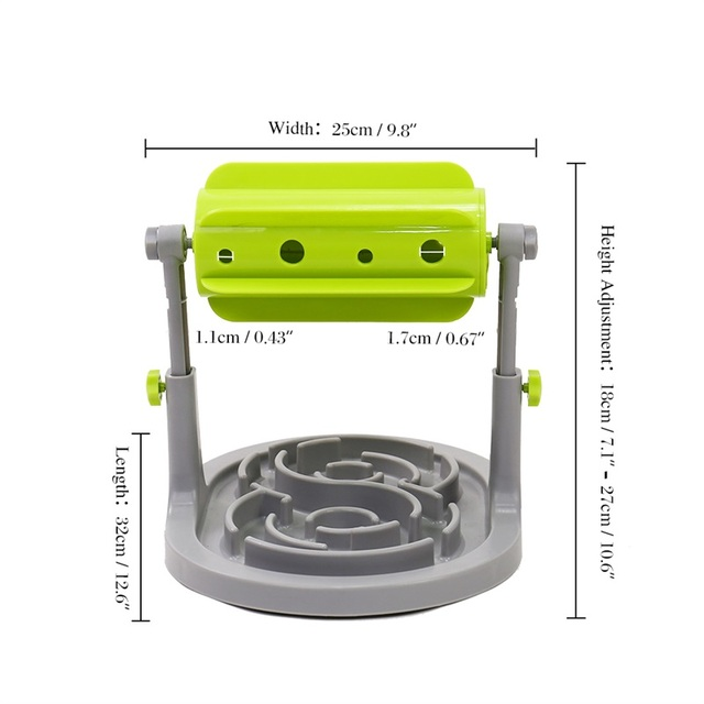 Petshy Pet Dog Interactive Toys Slow Feeders Bowl Healthy Diet Dogs Cats Food Feeder Foraging Toy Pets Food Treat Feeder Ball 3