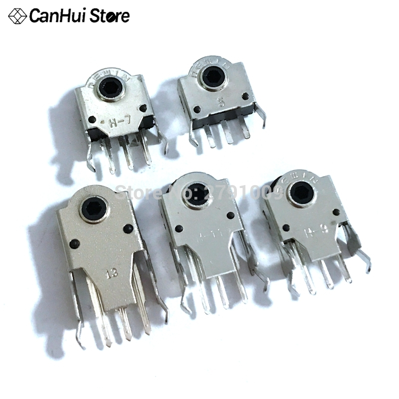 10Pcs 5MM 7MM 9MM 13MM Encoder 11mm Wheel Decoder Mouse Switch Connector H-5MM H-7