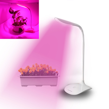Full Spectrum LED grow light 10w dimmable led lamp accelerate garden vegetable flowers potted plants succulent growth lighting
