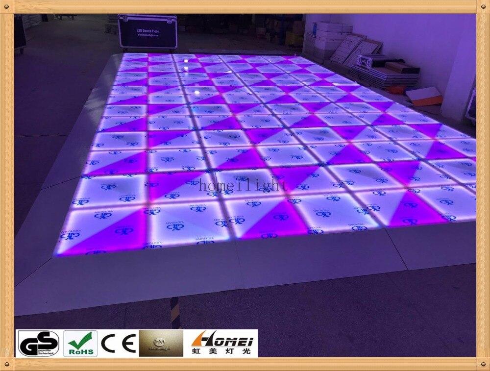 12Pcs RGB led dance floor for disco led dance floor light ...