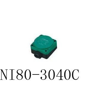 Inductive Proximity Sensor NI80-3040C PNP 3WIRE NO DC6-36V Detection distance 40MM Proximity Switch sensor switch lj18a3 8 z by 8mm detection pnp no inductive proximity sensor switch