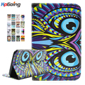 Fashion PU Leather Case for Samsung Galaxy Tab 3 Lite 7.0 Inch with Stand Function for Samsung SM-T110 SM-T111 Tablet Cover