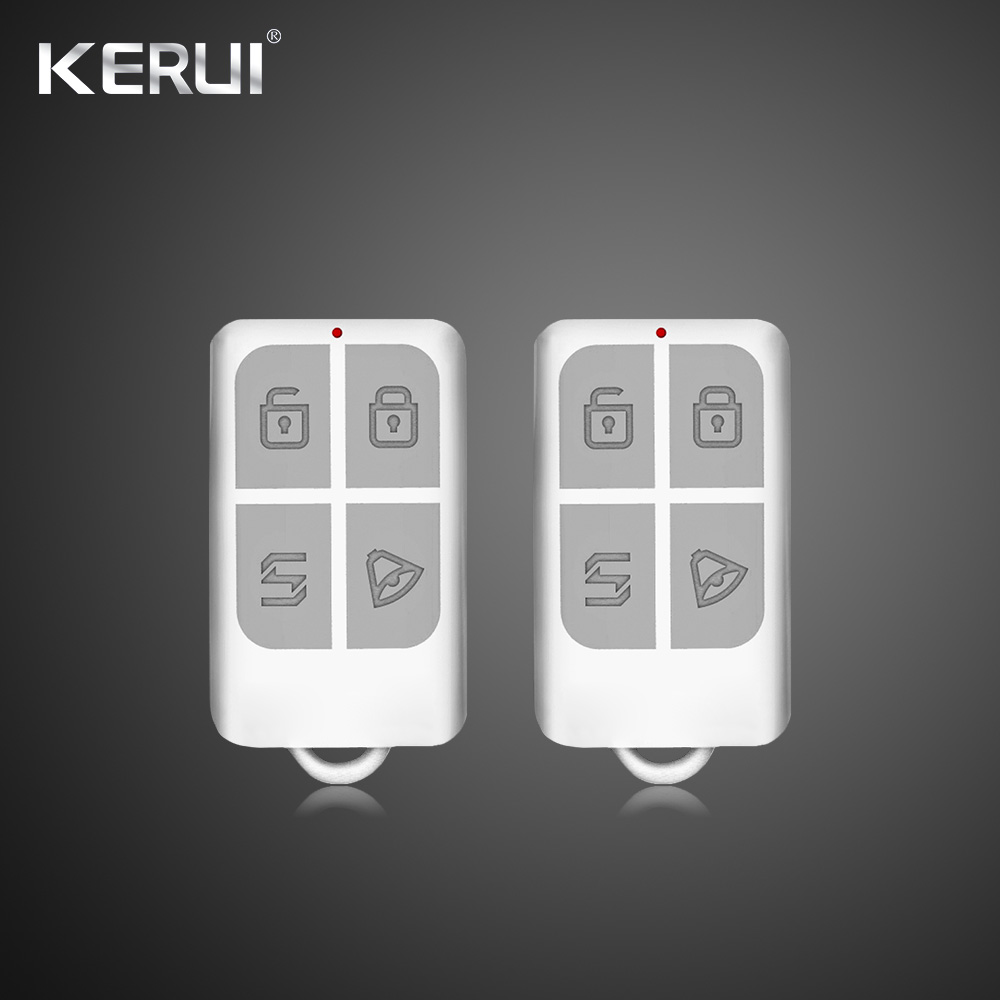 Kerui W18 Wireless Wifi GSM Alarm Systems Security IOS APP  GSM SMS Burglar Alarm System Motion Sensor Russian Warehouse 5