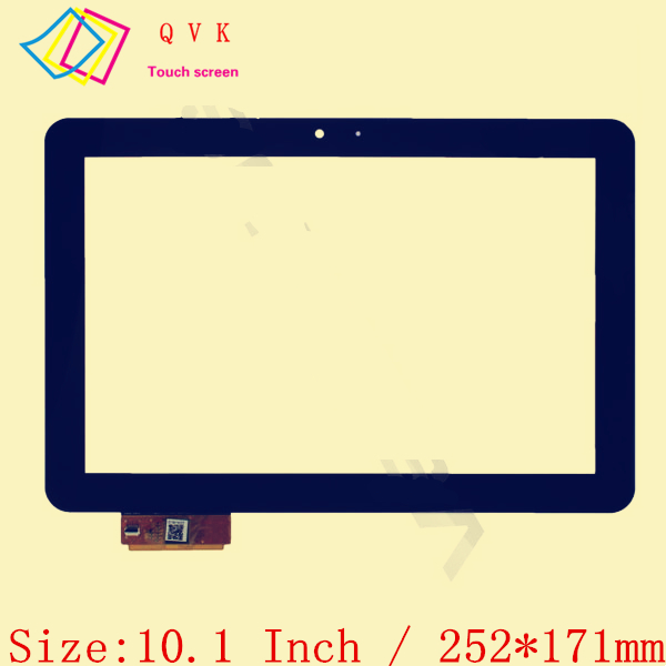 Black 10.1 Inch for DNS AirTab M100qg tablet pc capacitive touch screen glass digitizer panel Free shipping original new touch screen 9 inch dns airtab m93 tablet touch panel digitizer glass sensor replacement free shipping
