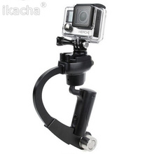 Gopro Accessories mini straight hand-held Gopro stabilizer for xiaomi yi GoPro Hero 4/ 3 plus Sj4000 Action Camera FREE SHIPPING