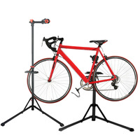 (Ship From US) Professional Portable Mechanic Bikes Repair Stand Display Universal Bicycles Workstand For Parking Holder