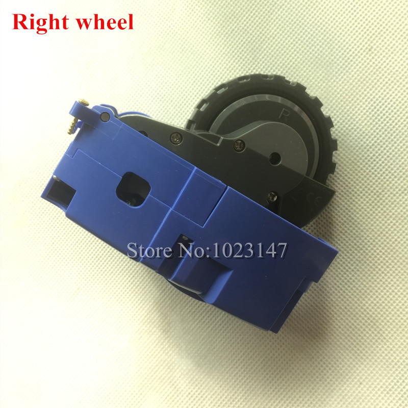 1 piece Robot Right Wheels replacement for irobot roomba 700 600 500 Series 780 760 770 620 650 630 660 595 Vacuum Cleaner Parts цена 2017