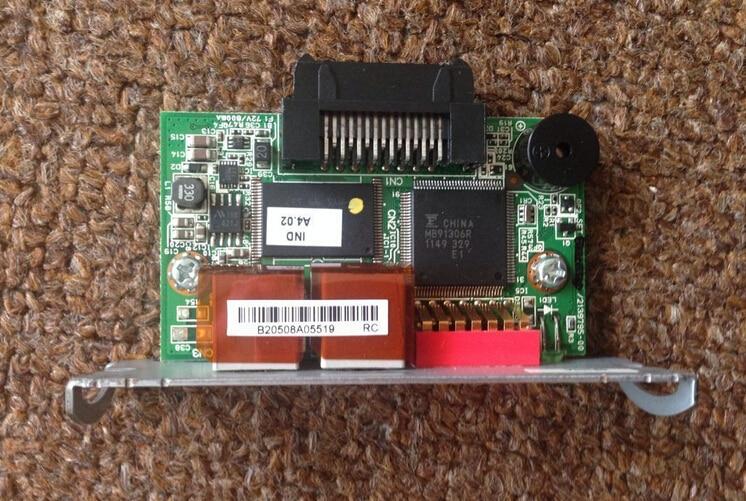Micros for EPSON printers TM Receipt M179C/M179D UB-IDN Interface Card p/n 2139793-00 V4.0 аккумулятор for hitatchi 12v 3 0ah ni mh hitachi p 20da r 9 d rb 18 d ub 13d ub 3d 302758 310378 310453 318240 xr hsc eb 1224
