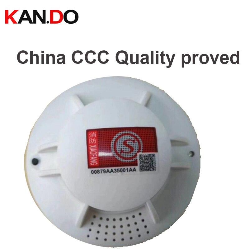 3C Quality Proved 868 Fire Smoking Alarm Smoke Detector Home Security Alarm System Smoke Alarm Smoking Sensor Work Alone