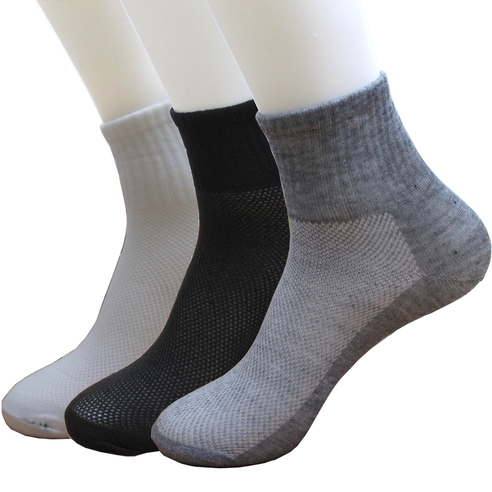 5 pairs / Lot New Hot Sale summer autumn style Mens socks good quality polyester comfortable breathable Mesh sock free shipping