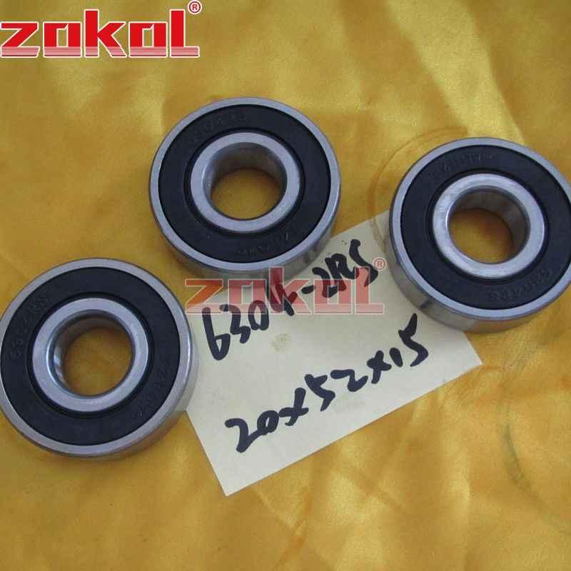 ZOKOL 6304RS تحمل 6304 2RS RS 6304-2RSN كرة أخدود عميقة تحمل 20*52*15 مللي متر