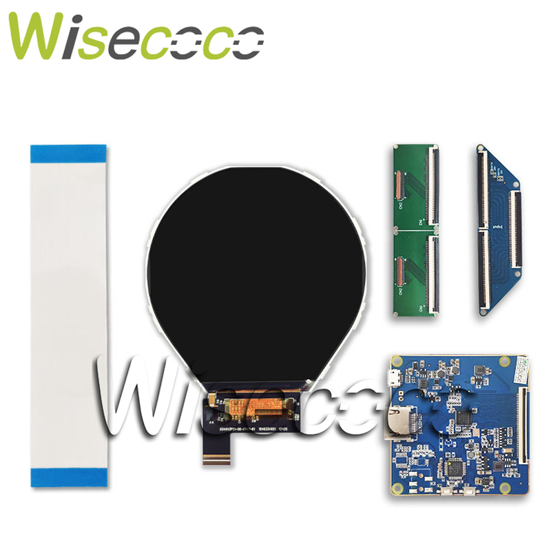 HDMI to MIPI Driver Board for 3 4 round circular 800 800 lcd panel for samrt watch Raspberry PI DIY project in Tablet LCDs Panels from Computer Office