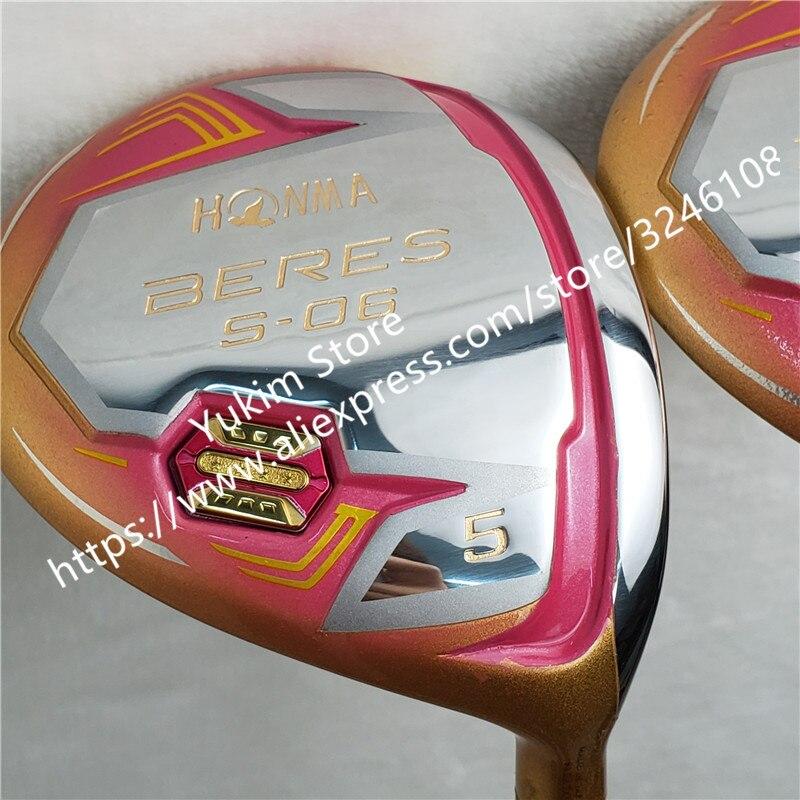 Nuove Donne Golf club HONMA S 06 4 Star di colore Dell'oro driver di Golf 11.5 loft Grafite L flex Club di Trasporto trasporto libero - 3