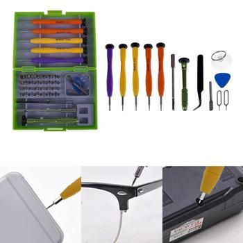 36 en 1 montre téléphone portable ouverture de l'écran supprimer réparation outils Kit tournevis pince Pry démonter outils ensemble pour montre
