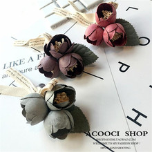 Korea Handmade Modern Flower Bowknot Brooches Pins Badges Fashion Jewelry For Woman Suits Accessories-YHGWBH030F