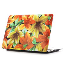 NEW Pattern Series Colorful Hue Matte Case Cover For Apple macbook Air Pro Retina 11 12 13 15 laptop bag Mac book 13.3 inch