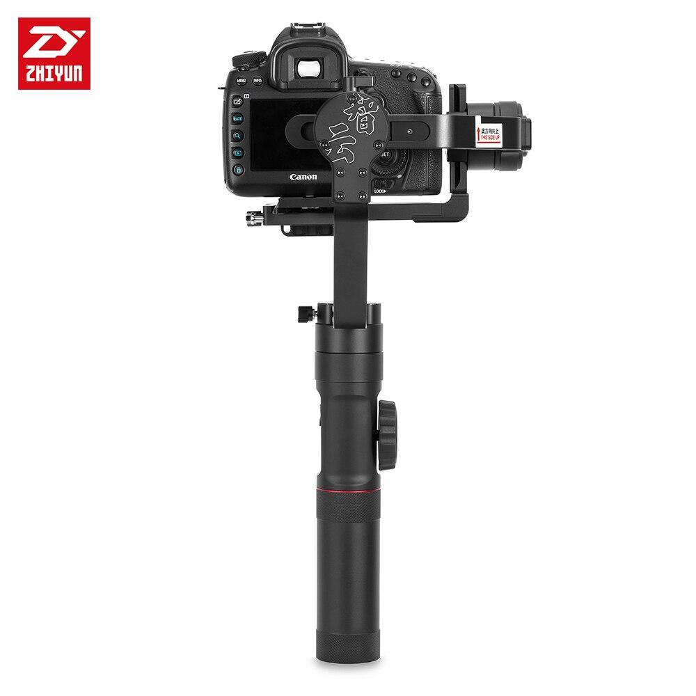 ZHIYUN Crane 2 3-Axis Handheld Gimbal Video Stabilizer with Servo Follow Focus for Canon 5D2 5D3 5D4 GH3 GH4 Sony DSLR Camera 10