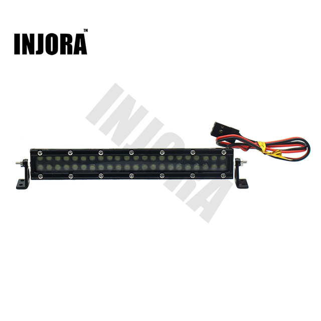 High performance metal 44 led roof lamp light bar for 110 rc high performance metal 44 led roof lamp light bar for 110 rc crawler axial aloadofball Image collections