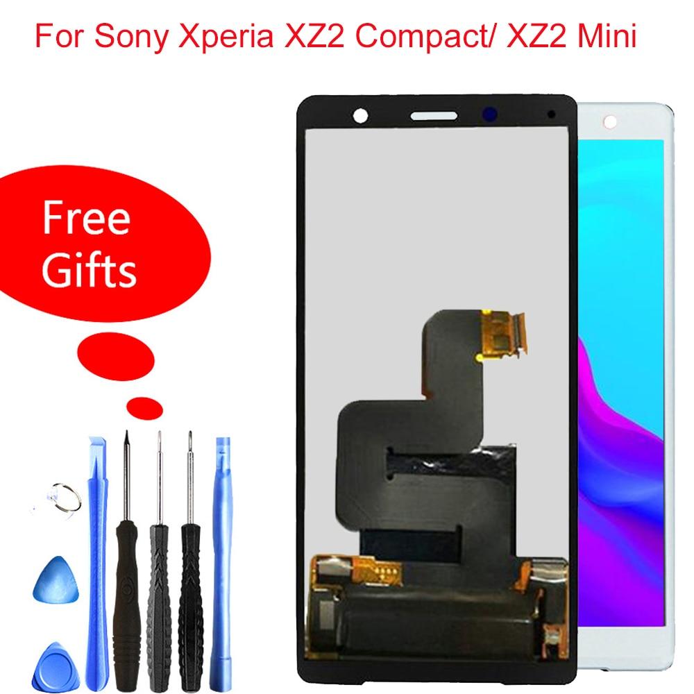 100% testé nouveau pour Sony Xperia XZ2 Compact LCD écran tactile numériseur 5.0