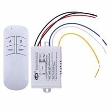 Sans fil marche/arrêt 1/2/3 voies 220V lampe télécommande commutateur récepteur émetteur contrôleur intérieur lampe maison remplacements pièces