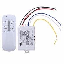Wireless ON/OFF 1/2/3 Möglichkeiten 220V Lampe Fernbedienung Schalter Empfänger Sender Controller Indoor Lampe Home Ersatz Teile