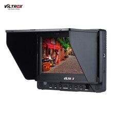 VILTROX DC-70EX 4 K Porfessional 7 Inç HD LCD Klip-on Kamera Video monitör 1024*600 Canon Nikon Sony Pentax Olympus DSLR için