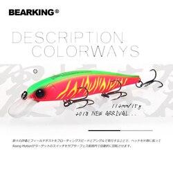 Bearking 2018 Neue heiße modell 112mm 15g feste gewicht system angeln lockt harten köder dive 1,5 m qualität wobbler minnow