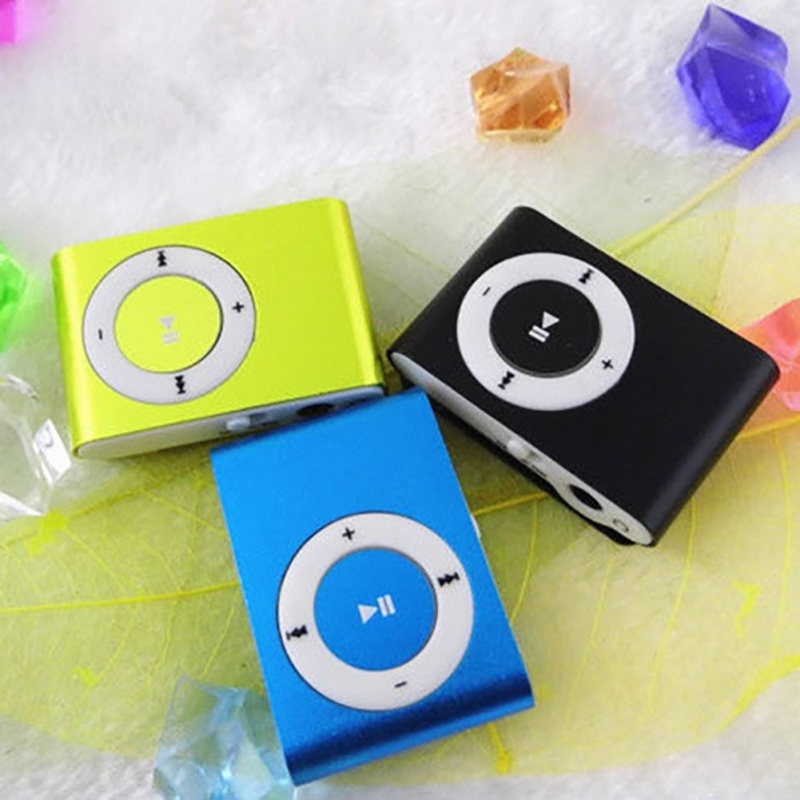 Colorful Mini Mp3 Music Player Mp3 Player Micro TF Card Slot USB MP3 Sport Player USB Port With Earphone