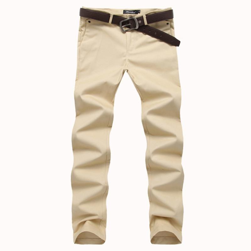 Online Get Cheap Slim Straight Khaki Pants -Aliexpress.com ...