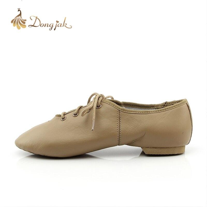 US $24.0 50% OFF 2017 freies Verschiffen Neue Jazz Dance Schuhe für Erwachsene und Kinder Komfortable Premium Weichen Rindsleder Jazz Dance Schuhe T