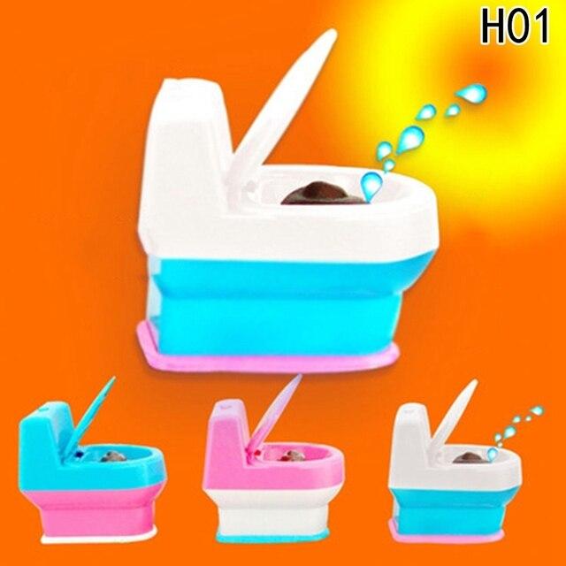 Mini Interesting Funny Toilet Bowl Supernatural Water Gun Toy For Kids Children Drop ShipNovelty & Gag Toys