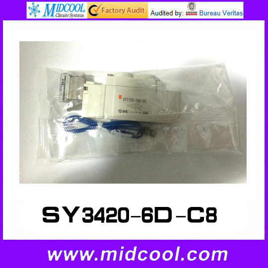 5 way pilot solenoid valve SY3420-6D-C8 5 way pilot solenoid valve sy3420 6g 02 page 3 page 4